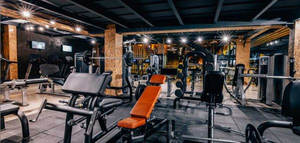 Antibacterial coatings for GYM's