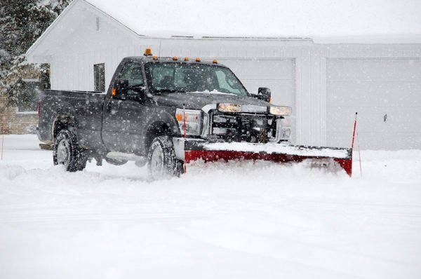 DSC Solutions Snow Plowing Truck