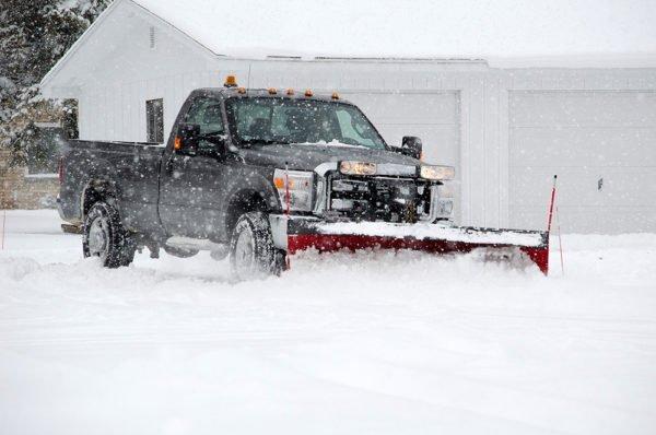 DSC Solutions Snow Plowing Truck