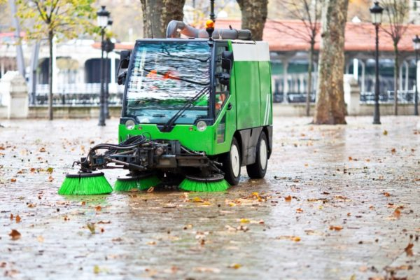 DSC Solutions Sweeping and Grounds Maintenance Services