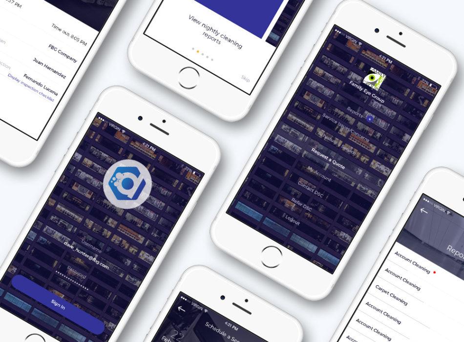 DSCLink app- proprietary technology