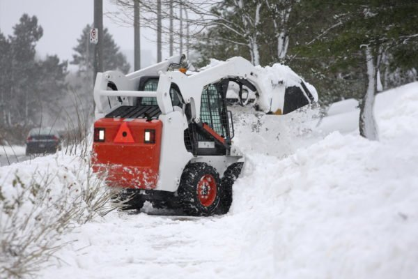 Comprehensive snow removal services